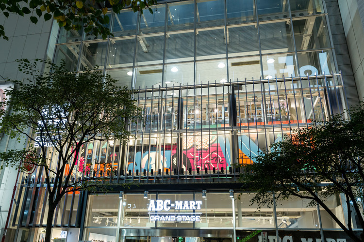 「ABC-MART GRAND STAGE GINZA」