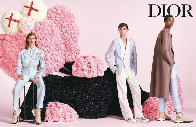 「ディオール 」メンズ2019年サマーコレクションのキャンペーンヴィジュアル