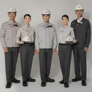 竹中公務店が26年ぶりに作業服を全面刷新、初の女性用サイズも
