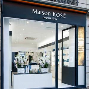 コーセーが欧州初のコンセプトショップ「Maison KOSÉ」をパリに出店