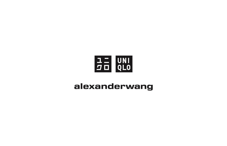 「UNIQLO and ALEXANDER WANG」ロゴ