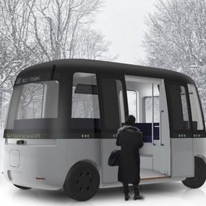 無印良品デザインの自動運転バスがフィンランドに登場