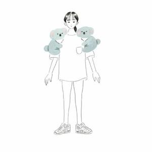「洗濯バサミにお花を挟んじゃうような女の子を絵に」深川優の新作個展が原宿で