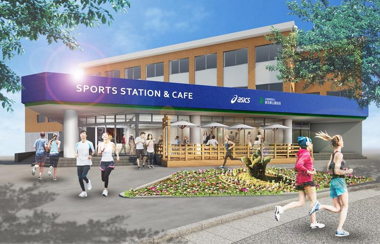 スポーツステーション&カフェの外観イメージ