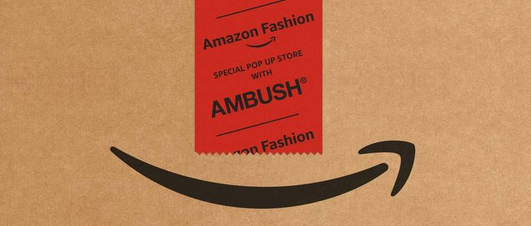 Amazon Fashion SPECIAL POP UP STORE with AMBUSH®