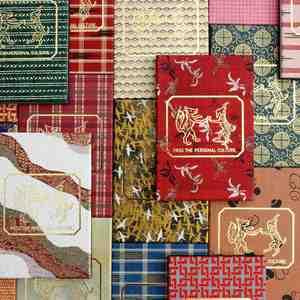 デッドストックの京友禅紙を使用、パスザバトンが朱印帳を再販売