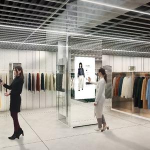アプリとデジタルサイネージを活用、GUの次世代型店舗のオープン日が決定