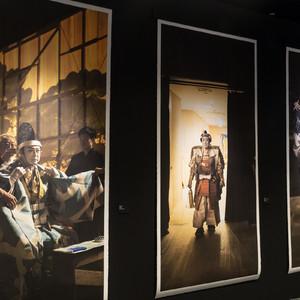 銀座ミキモト本店で二代目 中村吉右衛門の写真展が開催