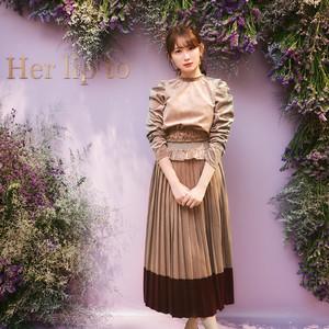 小嶋陽菜のブランド「Her lip to」が伊勢丹新宿店に限定出店