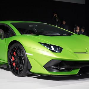 ランボルギーニが市販車最速「アヴェンタドール SVJ」をアジア初披露、価格は5000万超え