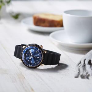 梶原由景監修セイコーのダイバーズ時計、小型化しジェンダーレスなデザインに