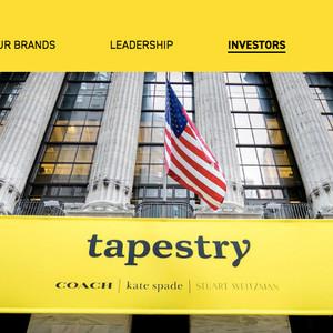 米タペストリーのCFOが約2年で退任へ