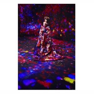 玉城ティナが魅せる、蜷川実花×チームラボボーダレスの写真展がラフォーレ原宿で開催