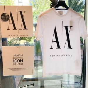 「A|X アルマーニ エクスチェンジ」90年代に人気集めたロゴTシャツを復刻