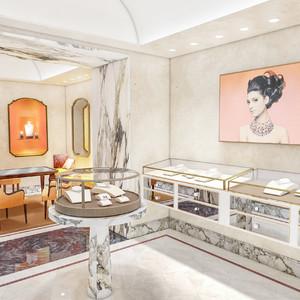 ブルガリがザ・リッツ・カールトン東京45階に新店舗オープン、ローマのサロンをイメージ