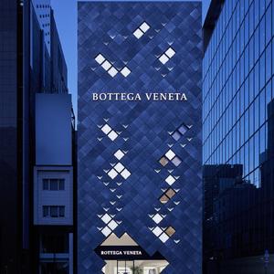ボッテガ・ヴェネタがアジア最大級の旗艦店を銀座に出店、東京に着想したデザインに