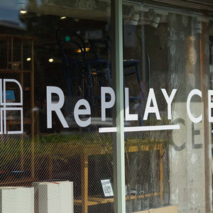 ベイクルーズブランドで使われていたインテリアを販売する「リプレイス」が代々木上原にオープン