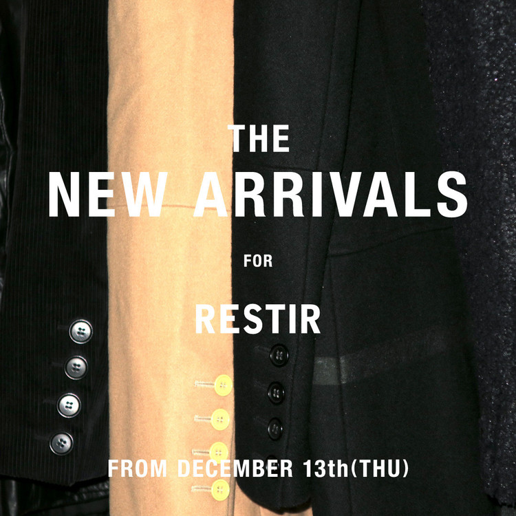 「THE NEW ARRIVALS」
