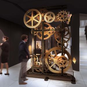 セイコーウオッチが体験型の小売施設を銀座にオープン、ミュージアムも
