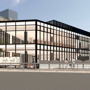 原宿駅前に新商業施設が来年1月開業、電通とサニーサイドアップが共同運営