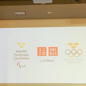 ユニクロとスウェーデンオリンピック委員会がパートナーシップ契約を締結