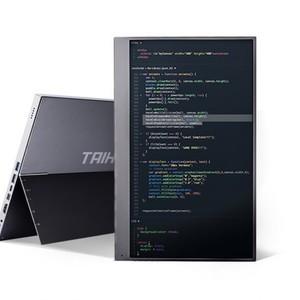 出先でのPC作業効率アップに、持ち運べるディスプレイ「Gemini」登場
