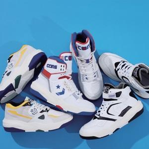 コンバース、80〜90年代のスポーツミックススタイルに焦点を当てた新作コレクションを製作