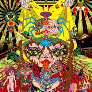 田名網敬一がアディダス オリジナルスとコラボした新作個展を開催、「トレフォイル」を配した作品を発表