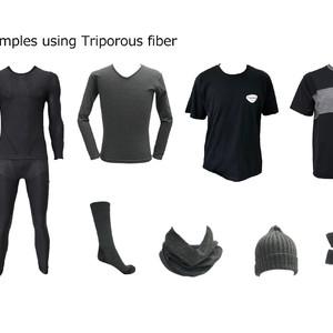 ソニーが新素材「トリポーラス」のライセンス展開を開始、防臭・消臭が求められる様々な分野に活用へ