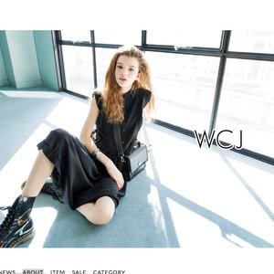 若槻千夏が新ブランド「WCJ」立ち上げ、ECサイトで販売