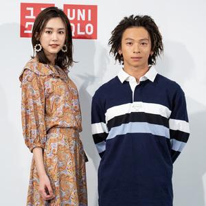 桐谷美玲と平野歩夢が「ユニクロ×JW アンダーソン」を着用して登場、新作発表会が開催