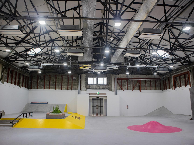 da68ea97c3d ナイキ SBのスケートパーク「Nike SB dojo」でスケートコミュニティーを盛んに、都内最大級の屋内型施設が誕生