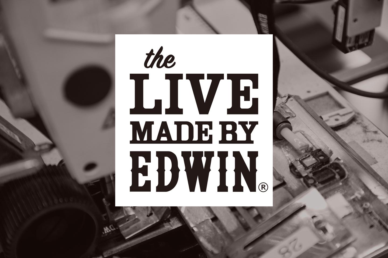 秋田の縫製工場からミシンを移設、「エドウイン」がジーンズの製造方法を披露する展示会を寺田倉庫で開催