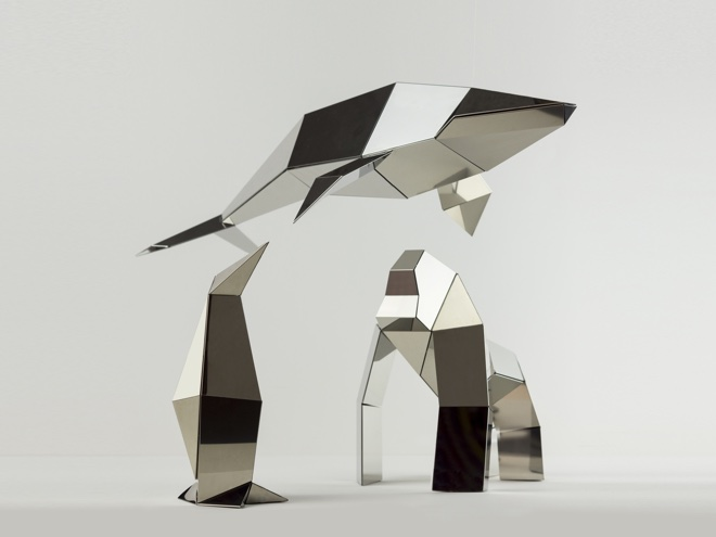 3d Origami Lamp