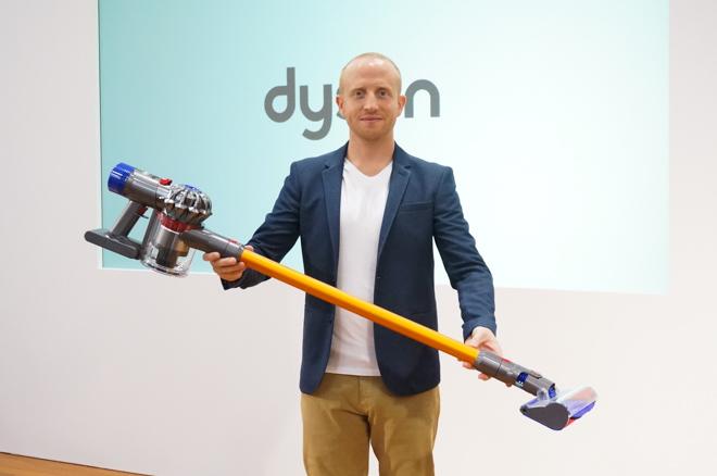 ダイソンのコードレス掃除機、新作は運転時間が最長40分に