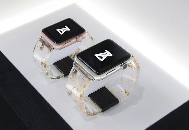 樹脂製のapple Watchバンドをアンリアレイジがデザイン Fashionsnap Com