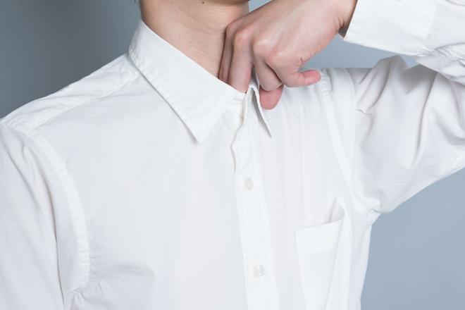 無印良品のブロードシャツの着回し術!おしゃれな白シャツの着こなし