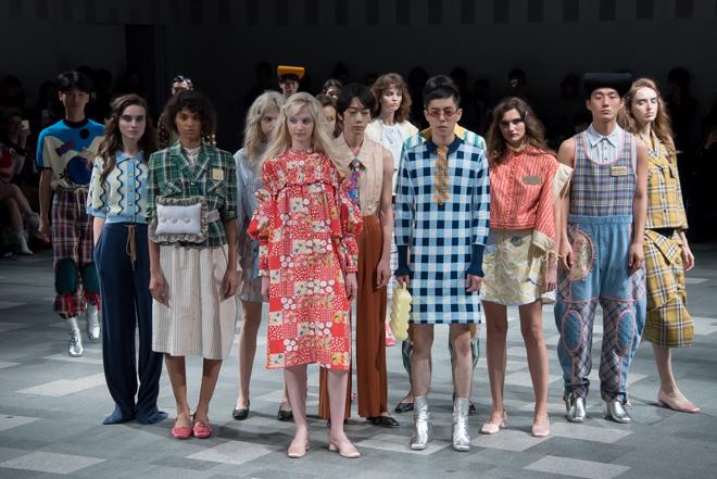 の期間中にファッションショー「@SeeNowTokyo 2018 SS COLLECTION」に参加。表参道ヒルズ発表した2018年春夏コレクションのショーピースは、FASHIONSNAPの同ページ