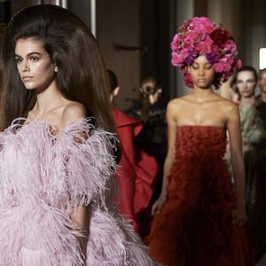 VALENTINO 2018-19 Autumn Winter Haute Couture Collection コレクション