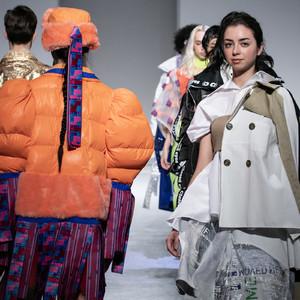 文化ファッション大学院大学(BFGU)2019年修了ショー  コレクション