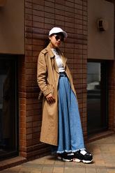 清田 萌子さんのストリートスナップ