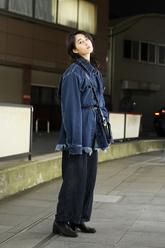堤 紗智子さんのストリートスナップ