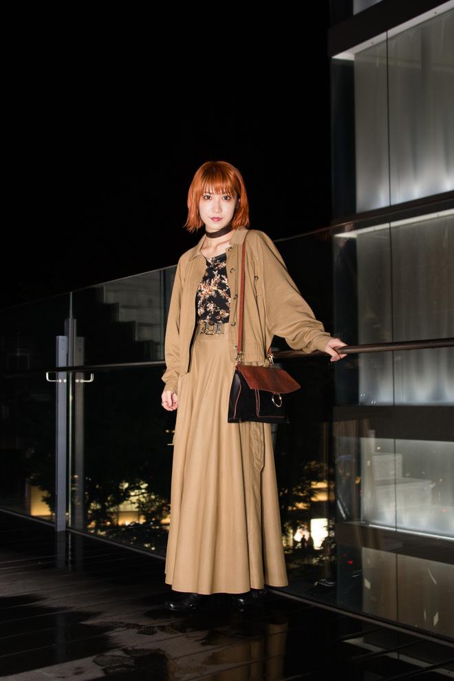 ストリートスナップ原宿 Akane Sakuraiさん Murua Used Vintage Zara