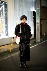 内田 英里香さんのストリートスナップ