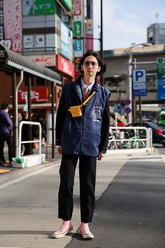 上杉 信介さんのストリートスナップ