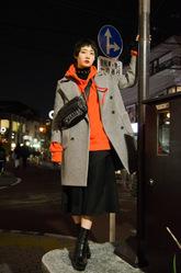 松川 真梨子さんのストリートスナップ