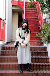 名和 風歌さんのストリートスナップ